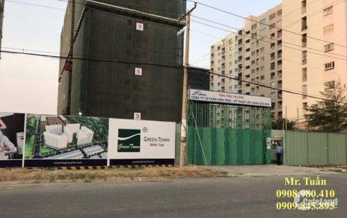 Mở bán Block đẹp nhất hai mặt tiền 30m tại dự án độc tôn Green Town Bình Tân chỉ từ 22 triệu/m2