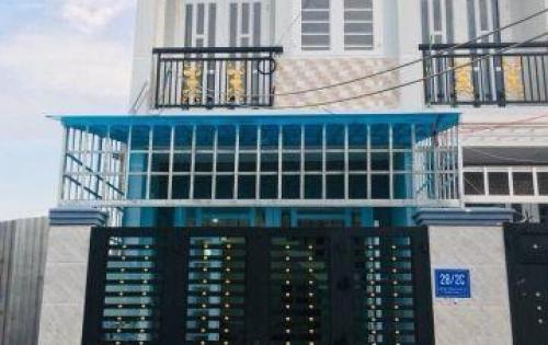 Bán nhà 2 tầng, đúc thật, tại Q12, giá chỉ 1.1 tỷ