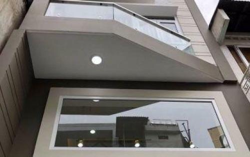 Nhà mới HXH 1 trệt 4 lầu Huỳnh văn Bánh Phú Nhuận