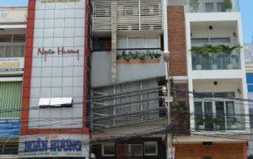 Bán MT Phan Đăng Lưu, 4 lầu, thang máy. Thu nhập 150tr/tháng. Giá 36 tỷ