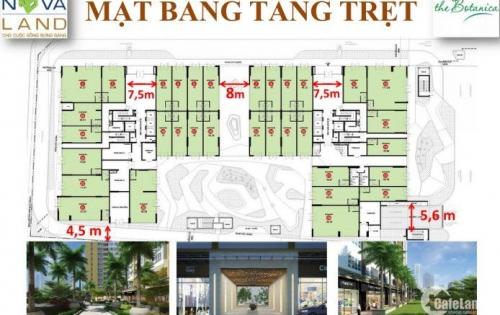 Bán căn shophouse The Botanica, tiện kinh doanh, giá 5.8 tỷ