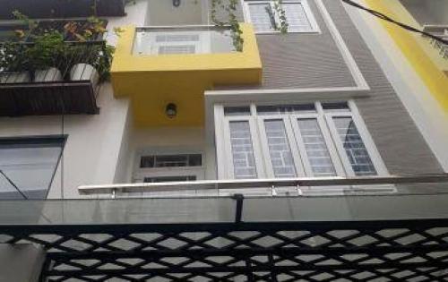 Nhà HXH 4x12m, 4tầng, 7.3tỷ Lạc Long Quân, Tân Bình.
