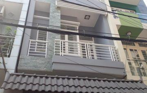 Bán nhà mặt tiền gần chợ Phạm Văn Hai, Quận Tân Bình, 38m2, 3.8x10m, 4 tầng, giá 6.2 tỷ.