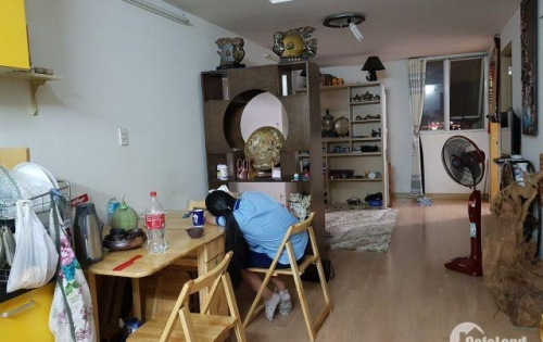 Bán căn hộ 4B lầu 8 Khối 1 Chung cư Khang Gia Tân Hương 1ti 350
