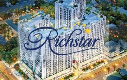 Chỉ với 2,1 Tỷ căn hộ RichStar gần Công Viên Đầm Sen.