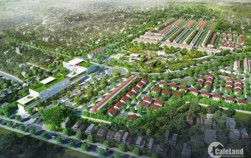 Bán 172m2 đất tặng nhà 3 tầng mặt đường chính kđt Vsip, lh 0973321776