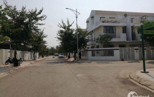 Bán 171.5m2 đất tặng nhà 3 tầng, lô góc mặt đường 12m, lh 0973321776