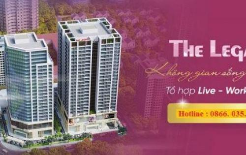 Chỉ 32tr/m2 sở hữu ngay chung cư cao cấp The Legacy 106 Ngụy Như Kon Tum. LH 0866035483