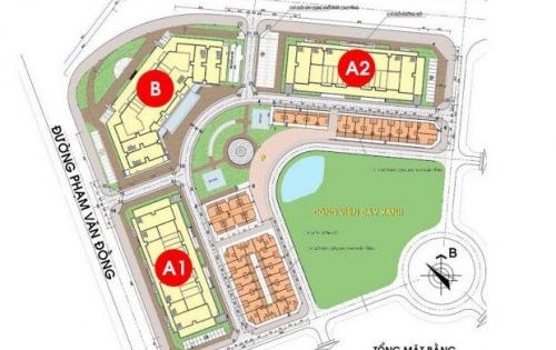 Bán 3 tầng trung tâm thương mại khối đế chung cư IA20 Ciputra Bộ Quốc Phòng