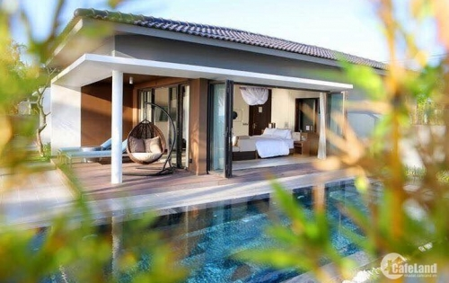 Biệt thự nghỉ dưỡng Hồ Tràm Vũng Tàu, chỉ 8tr/m2 gồm đất và villa, giá rẻ nhất Việt Nam