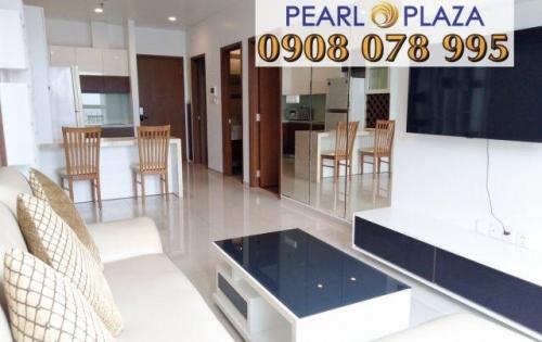 Cho Thuê CH 1PN_56m2 Pearl Plaza quận Bình Thạnh_View Sông Sài Gòn. Lh Hotline PKD SSG 0908 078 995 Xem Nhà Ngay