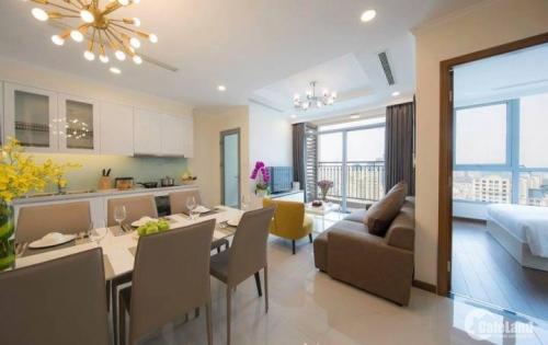Căn hộ cao cấp loại 2PN cho thuê tại Vinhomes Tân Cảng giá 23tr/tháng nt đầy đủ
