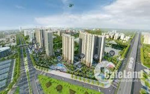 Cho thuê căn hộ 2 PN view hồ, hoàn thiện cơ bản chung cư D Capitale Trần Duy Hưng
