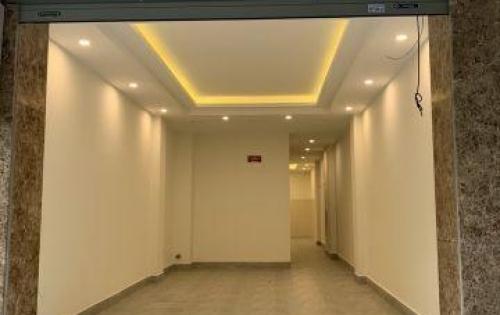 Cho thuê nhà mới xây, có thang máy phố Tú Mỡ, Trung Hòa, tiện KD, VP