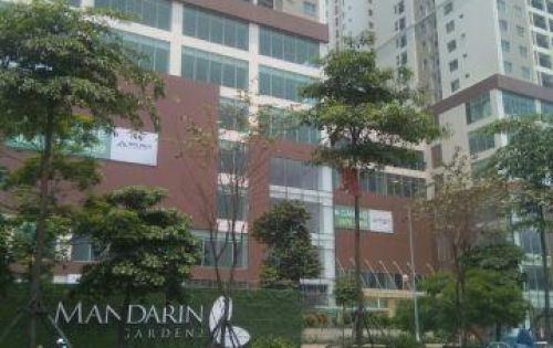 Cho thuê sàn thương mại chân đế chung cư Mandarin Garden 2 Tân Mai, Hoàng Mai