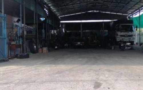 Cho thuê kho, xưởng sản xuất 400m2, container đổ cửa.