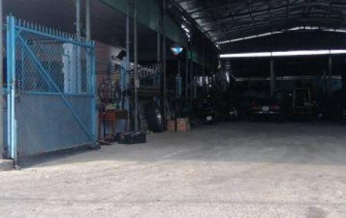 Cho thuê đất dựng kho xưởng sản xuất 800m2 vị trí container đổ cửa