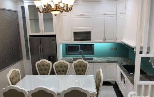 Cho thuê căn hộ liền kề Vinhomes The Harmony Sài Đồng full nội thất 105m2 căn góc