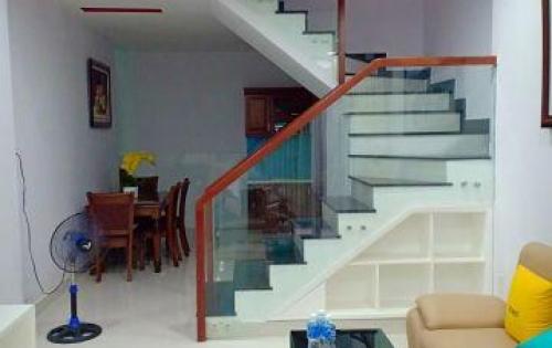 Cho thuê nhà mới nguyên căn hẻm Bà Hạt,1 trệt 1 lầu Q10,4*11m2,đầy đủ nội thất mới đẹp