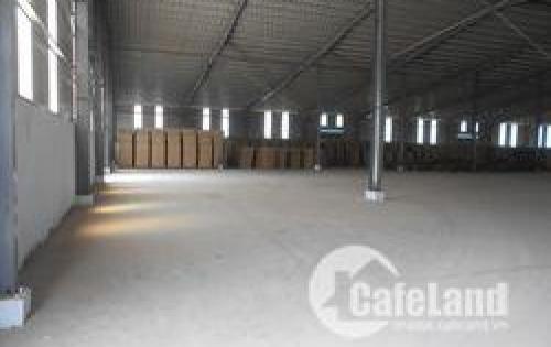 Cần cho thuê nhà xưởng 1000m2 Quận 12