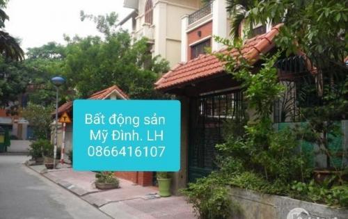 Cho thuê biệt thự Mỹ Đình 2, DT đất 150m, DTSD 100m, giá 33 tr/th. LH anh Khoa 0866416107