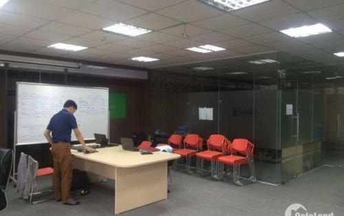 Chính chủ cho thuê văn phòng  tại phố Miếu Đầm, Nam Từ Liêm, Hà Nội dt 120m2 giá 27tr