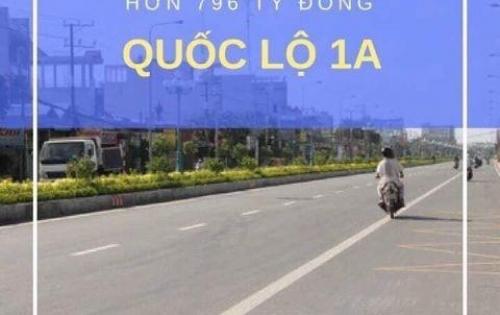 Kẹt tiền nên bán mảnh đất MT Phan Văn Mãng Trung Tâm TT BẾN LỨC.700tr/100m2 ,SHR