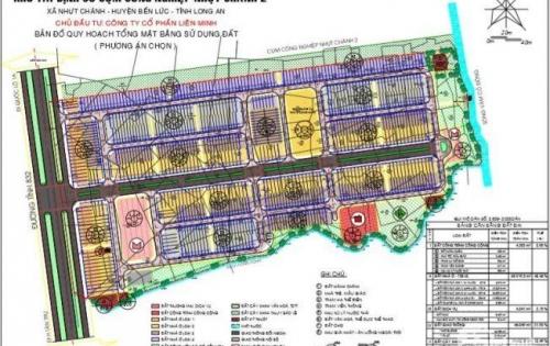 Dự án Phố chợ Ven Sông Vàm Cỏ Đông , Nhựt Chánh , Bến Lức , Long An
