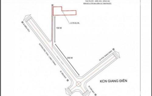 cần tiền bán gấp lô đất 100m2 ngay đường Bắc Sơn – Long Thành