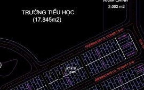 Nền Đẹp, Giá Siêu Đầu Tư KDC Hồng Loan. Dt 5m x 16m. Đối Diện Trường Tiểu Học