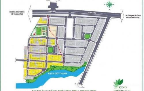 King Reverside dự án mới mở bán tại huyện Cần Giuộc