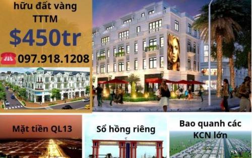 Mở bán khu đô thị Đại Nam - Mặt tiền QL13