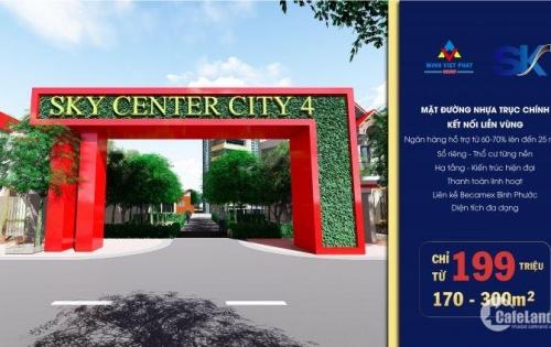 Sky center city 4 đón đầu thành phố công nghiệp tương lai. Một siêu phẩm cho các nhà đầu tư.