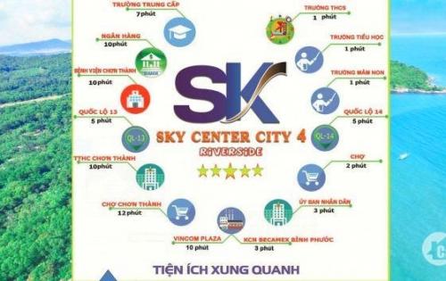 ĐẤT NỀN SKY CENTER CITY IV NƠI ĐẶT TRỌN NIỀM TIN ĐỂ THU LỢI NHUẬN