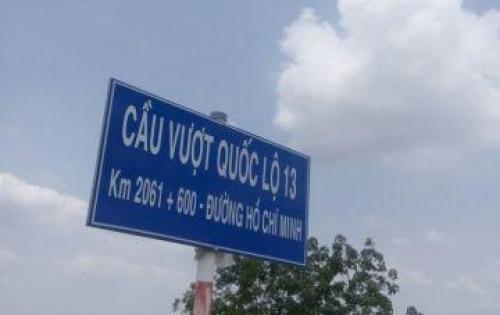 Đất 528m2 {12x44} đường hồ chí minh,xã minh thành,Thị Trấn Chơn Thành Bình Phước.
