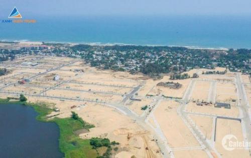 Đất nền dự án, 2 mặt tiền sông - biển, giá gốc chủ đầu tư