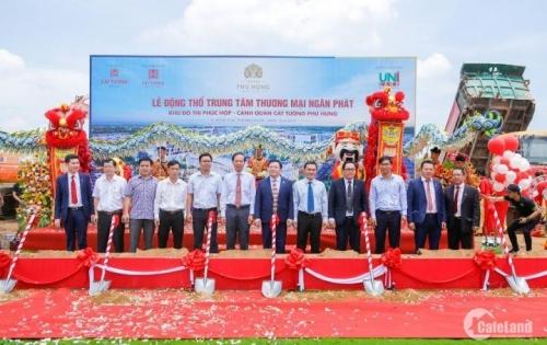 Đất nền Cát Tường Phú Hưng Bình Phước 827 triệu/nền, hơ trợ góp 0% LS, mua đất rinh ngay xe SH 125cc