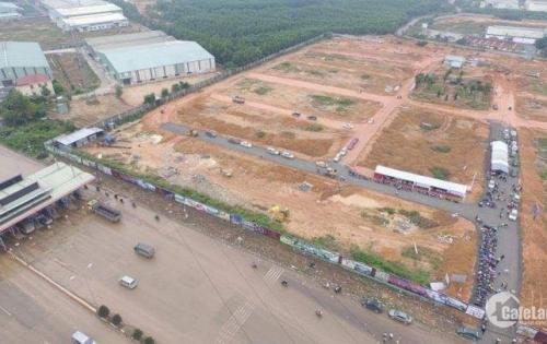 Đất nền thổ cư 100% ngay trung tâm thị trấn Đức Hòa mặt tiền đường lớn