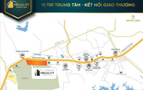 Mở bán giai đoạn 1 dự án KĐT mới Mega City ở TTTP Kon-Tum