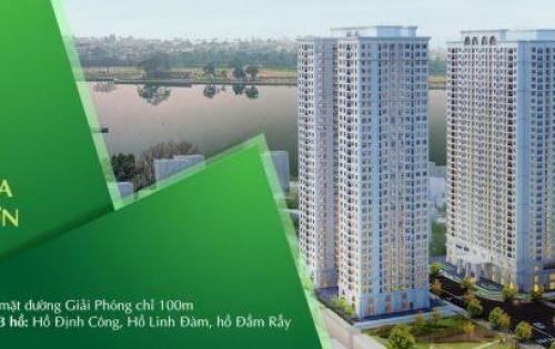 Thu nhập 7.5tr/th sở hữu căn 2PN 71m2 tại Eco Lake View-Hoàng Mai-Có sổ Hồng-LS 0%