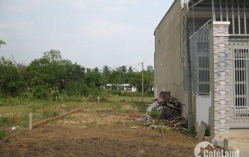 Cần Bán Rất Gấp lô đất thổ cư đường Nguyễn Hữu Trí,Tân Túc,Bình Chánh. DT 100m2, giá 950tr SHR, Thổ Cư 100%.