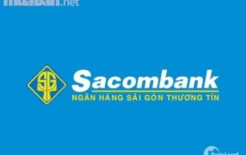Ngày 28/04/2019 Sacombank HT Thanh Lý 27 lô đất liền kề Khu Tên Lửa giá thấp hơn thị trường từ 10-15%
