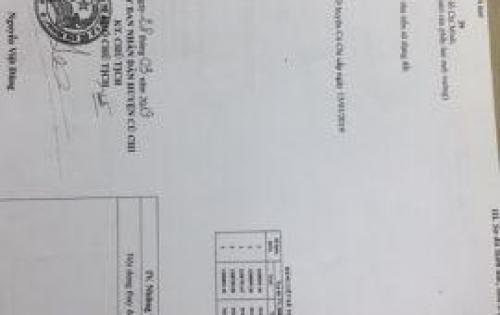 Bán đất MT đường Võ Văn Bích, Bình Mỹ, Củ Chi, HCM, chính chủ