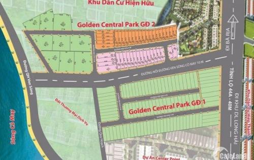 Đất Nền Dự Án Golden Central Park Hấp Dẫn Trực Tiếp Do Chủ Đầu Tư Bán