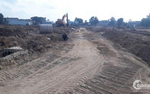 Bán đất nền chợ mới Long Thành mặt tiền QL51 giá 865tr/1nền/40%.