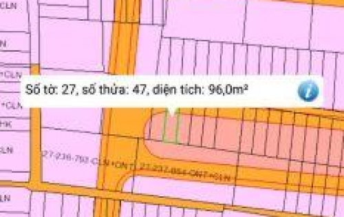 Đất nền giá dưới 1 tỷ ở Phú Đông, Nhơn Trạch.