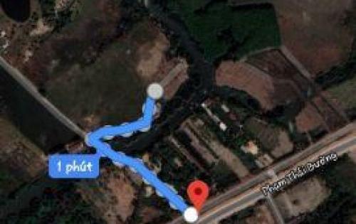 Bán đất view sông, cách mặt tiền đường Phạm Thái Bường 200m, thích hợp đầu cơ!