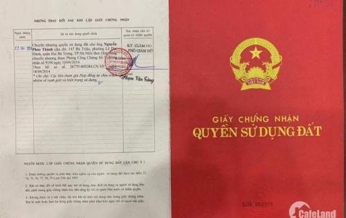 Cần Bán Lô Đất Mặt Tiền Đường Vườn Lài Nối Dài, P.An Phú Đông, Q.12.
