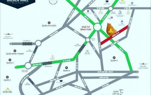 Golden Mall là 1 điểm đầu tư cực tốt Hót Hot Hot với giá đầu tư F1. Hotline 0934 119 178