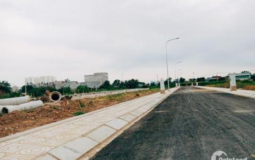 Đất nền Bình Tân KDC Dragon Lake View, sổ riêng, đường nhựa 7m, điện nước âm, xây tự do